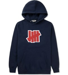 Undefeated Indigo Double 5 Strike Hoodie Picture