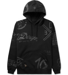 10.Deep Black Full Clip Hoodie Picture