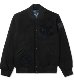 Opening Ceremony Black Tristan Wool Classic OC Varsity Jacket Picture