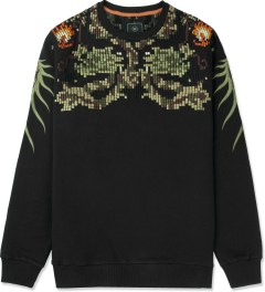 maharishi Black Crewneck Sweater Picture