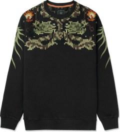 maharishi Black Crewneck Sweater Picture