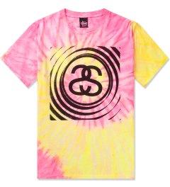 Stussy Pink Spiral SS Tie-dye T-Shirt Picutre