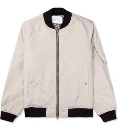 Liful Beige MA-1 Blouson Jacket Picture