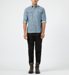 Maison Kitsune Used Western Shirt Model Picture