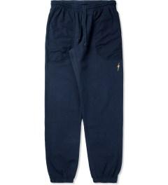Lightning Bolt Insignia Blue Shaka II Pants Picutre