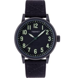 TSOVET Black/Black w/ Lime/Black JPT-TF40 Watch Picture
