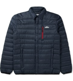 Penfield Navy Naklin LW Packable Tech Down Shirt Picture