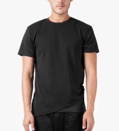 3.W.Y Black Rucker T-Shirt Model Picutre