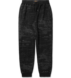 10.Deep Black Wxrldwide Sweatpants Picutre