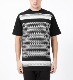 Black Scale Black Holiday Hellday T-Shirt Model Picture