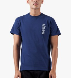 10.Deep Blue Triple Stack T-Shirt Model Picture