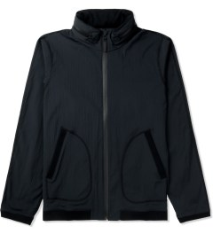Reigning Champ Black RC-4032 Stow Away Hooded Zip Jacket Picture