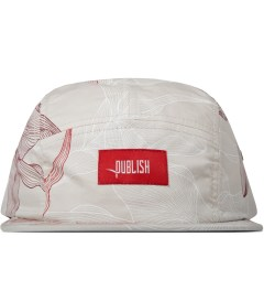 Publish Tan Digital Floral 5-Panel Camper Cap Picture