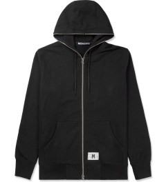 Midnight Studios Black Zip-Up Hoodie Picutre
