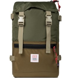 TOPO DESIGNS Coyote/Olive Rover Backpack Picture