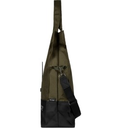BLC Khaki Nomad Messenger Bag Model Picture
