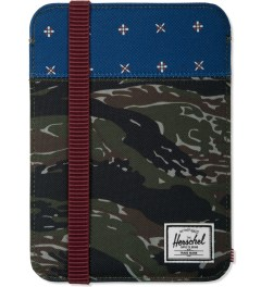 Herschel Supply Co. Tiger Camo/Hyde Cypress iPad Mini Sleeve Case Picutre