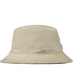 HUF Khaki/Eggplant Taslan Reversible Bucket Hat Picutre