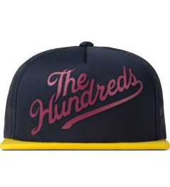 The Hundreds Navy Books Snapback Cap Picutre