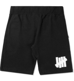 Undefeated Black/White 5 Strike Sweatshorts Picutre
