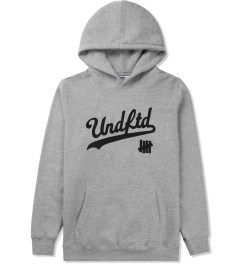 Undefeated Heather Grey UNDFTD Script Hoodie Picture