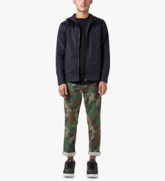 HUF Woodland Camo Fulton Chino Pants Model Picture