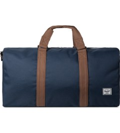 Herschel Supply Co. Navy/Tan Ravine Duffle Bag Picutre