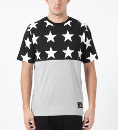 Black Scale Black All Star T-Shirt Model Picture