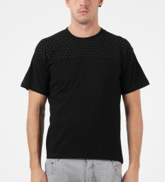 Mott Street Cycles Black Blot Cut & Sew T-Shirt Model Picutre