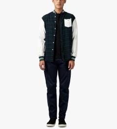 Matthew Miller Black Rouge Zip Sweater Model Picture
