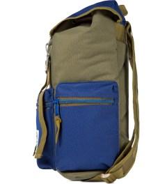 Poler Olive/Navy Roamers Pack Backpack Model Picutre