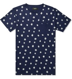Grand Scheme Navy Scribble Dot T-Shirt Picutre