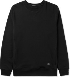 UNYFORME Black Jones Crewneck Sweater Picutre