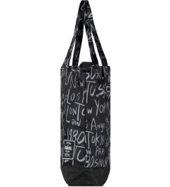Stussy Black Print Stussy x Herschel Supply Co. Cities Tote Bag Model Picutre