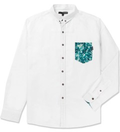 The Quiet Life White Crystal Oxford Shirt Picutre