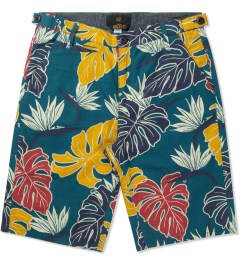 10.Deep Blue Birds Of Paradise Shorts Picture