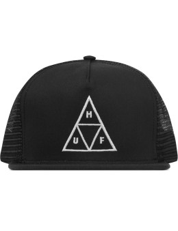 HUF Black Triple Triangel Trucker Picture