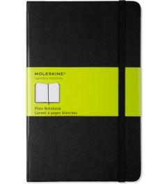 MOLESKINE Black Plain Large Notebook Picutre
