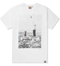 Carhartt WORK IN PROGRESS White/Multicolor Carhartt WIP x PSC Titan T-Shirt Picture