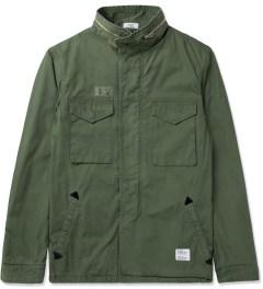 Bedwin & The Heartbreakers Olive Gordon M-65 Field Faded Jacket Picture