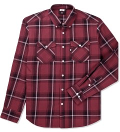 FTC Red Ombre Plaid Nel B.D Shirt Picture
