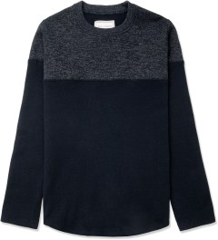 Still Good Navy Melange Jazzy Sweater Picutre