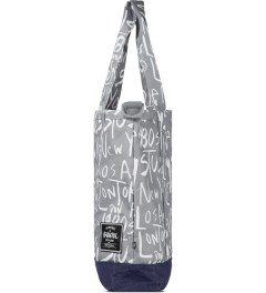 Stussy Grey Stussy x Herschel Supply Co. Cities Tote Bag Model Picutre