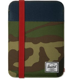 Herschel Supply Co. Woodland Camo/Navy/Red Cypress iPad Mini Sleeve Case Picutre