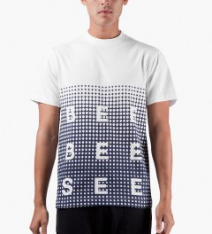 Billionaire Boys Club White S/S Spectrum Dot T-Shirt Model Picutre