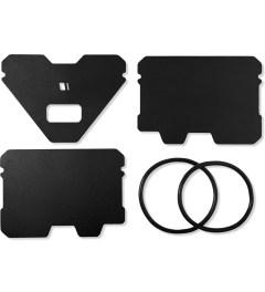Obstructures Black Hardcoat A3 Aluminum Plate Wallet Model Picutre