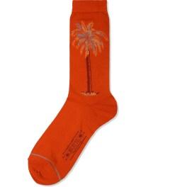 EOTOTO Brown Palm Tree Hi-Sox Socks Picutre