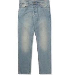Carhartt WORK IN PROGRESS Blue Revolt Washed Klondike Pants II Picture