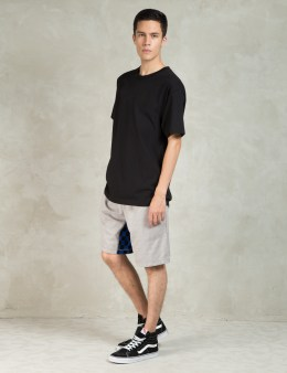 HALL OF FAME Heather Grey Checked Gusset Shorts Picture
