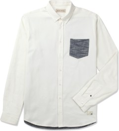 Libertine-Libertine White Hunter L/S Shirt Picutre